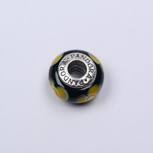Pandora Jewelry - Authentic PANDORA Murano Glass Flower For U Charm
